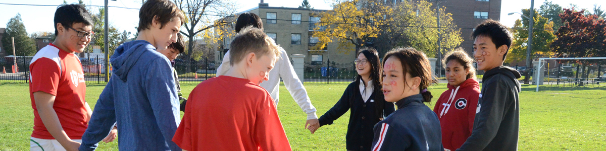 Secondary Students at Bond Activity Day